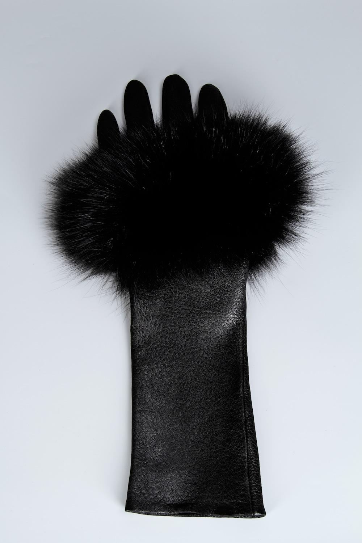 Medium Length Fingerless Lambskin Glove / Drop 1 / Mark Molnar
