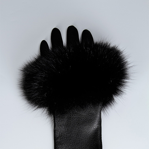 Medium Length Fingerless Lambskin Glove / Drop 1 / Mark Molnar