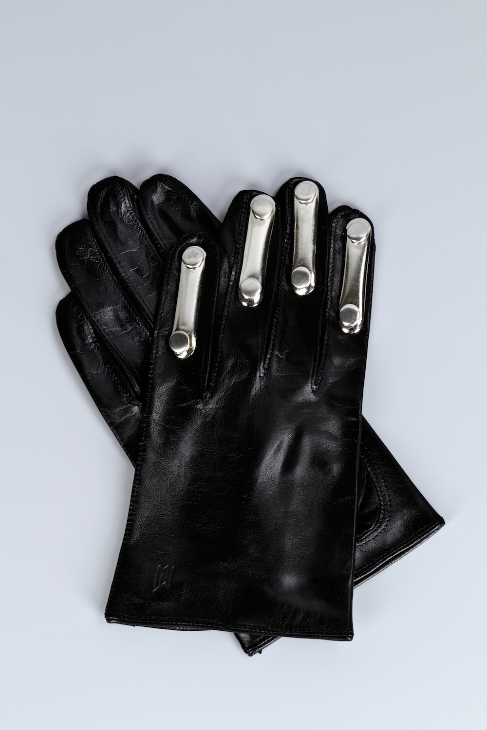 Lambskin Glove with Metallic Elements / Fall-Winter 2013 / Mark Molnar