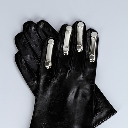 Lambskin Glove with Metallic Elements / Drop 1 / Mark Molnar