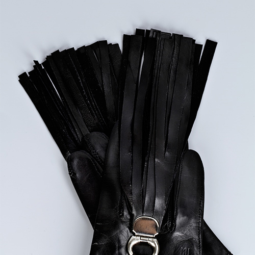 Cropped Lambskin Gloves / Drop 1 / Mark Molnar